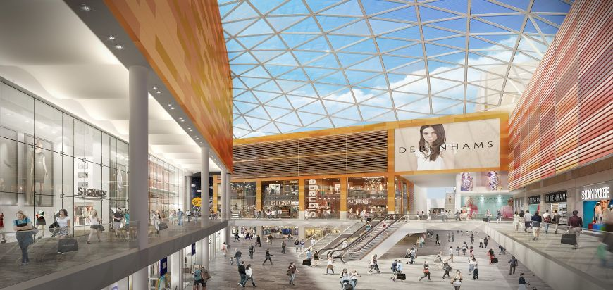 Intu Shopping Centre redevelopment, Watford