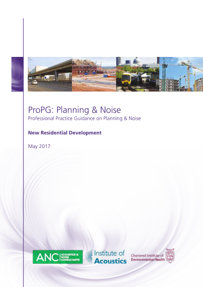 Planning Practice Guidance on Planning and Noise (ProPG) released